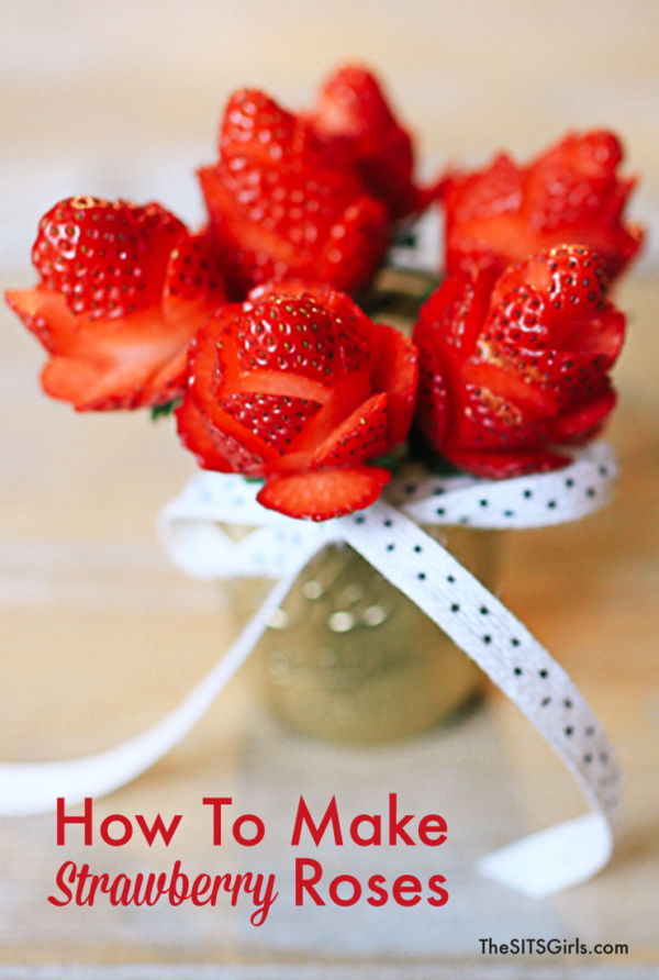 9 Enchanting Beauty And The Beast Inspired Food You Really Can Make- Strawberry Roses