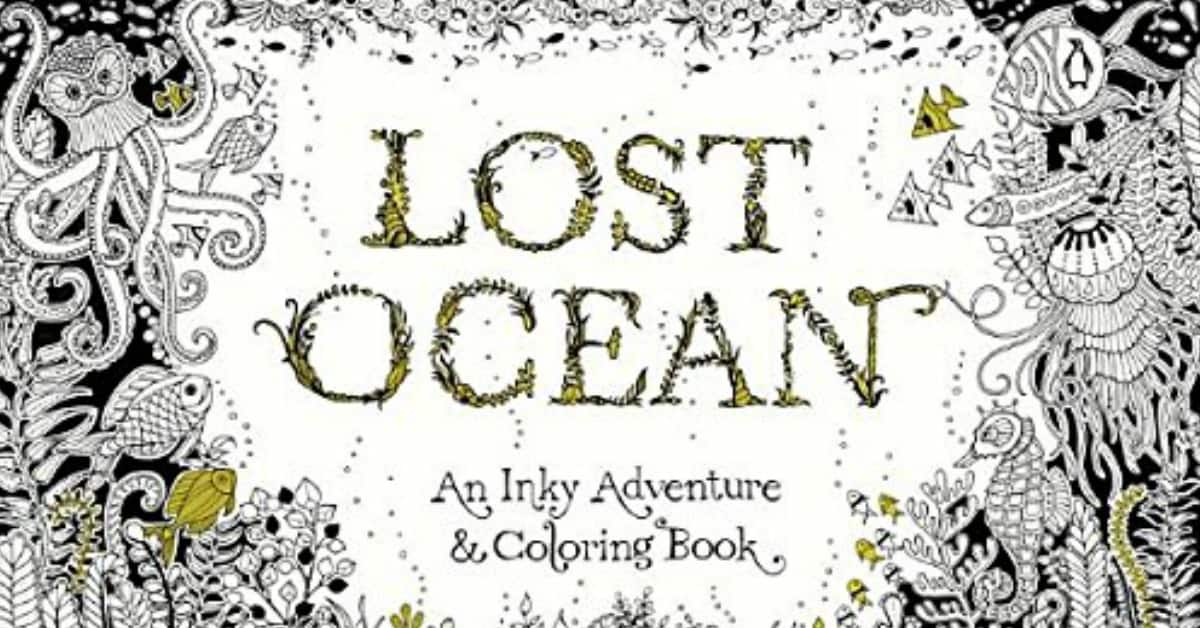 7 Adult Coloring Books For Everyone Who Loves The Ocean ...