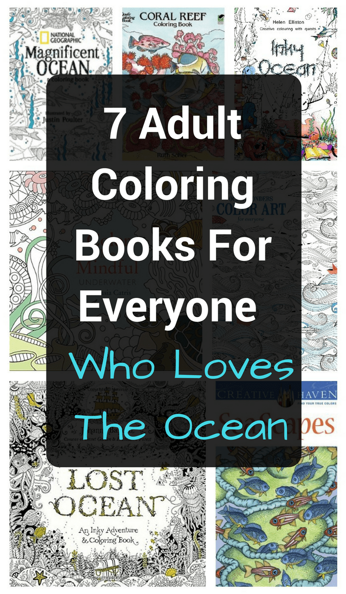 Looking for the best adult coloring books full of ocean pages?  Check out these awesome ideas to eliminate stress and let your pencils be your inspiration!