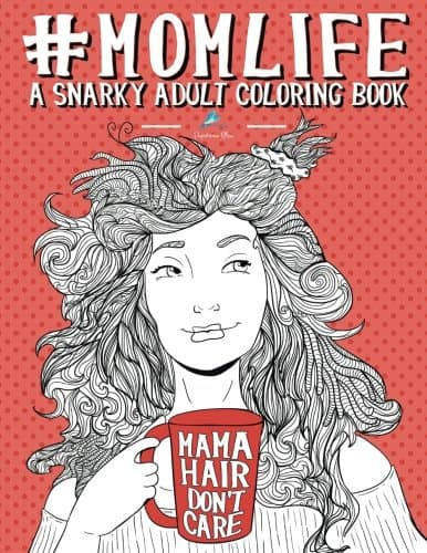 9 Funny Coloring Books For Grownups That Are The Best Stress Reliever: Momlife