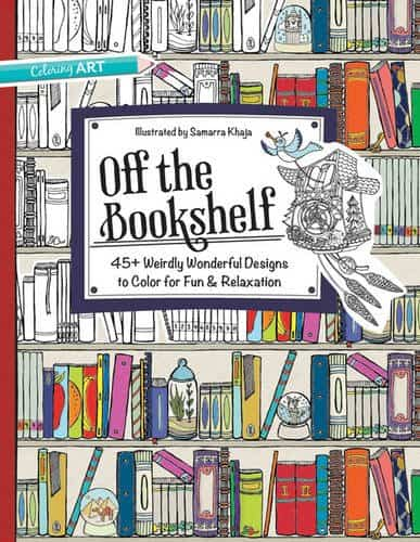 9 Funny Coloring Books For Grownups That Are The Best Stress Reliever: Off The Bookshelf