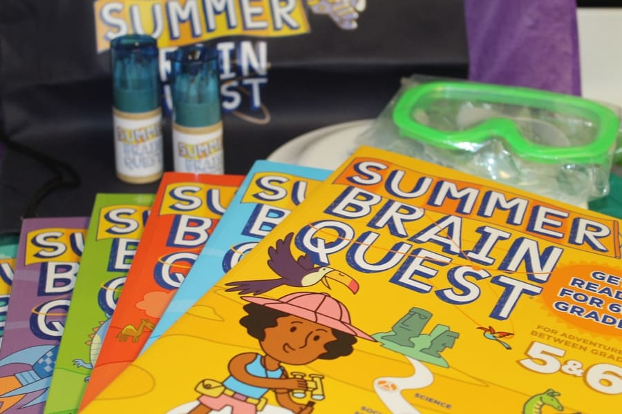 Stop Summer Slide in Its Tracks with Summer Brain Quest + Giveaway #BrainQuest