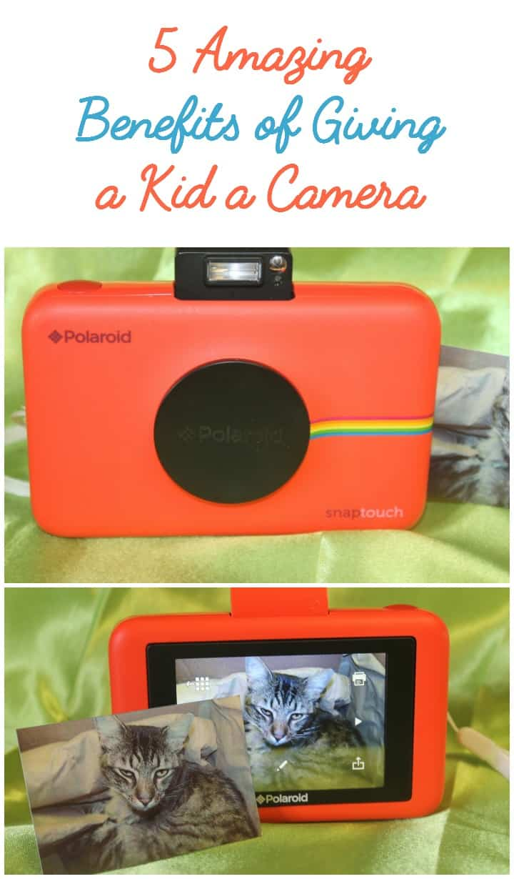 Need a great gift idea for your tween? Check out 5 amazing things that happen when you give a kid a camera!
