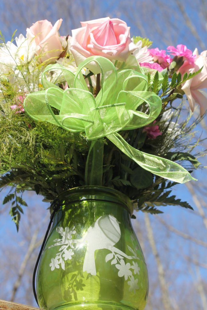 Celebrate the return of color with a spring bouquet + check out 7 brilliant ways to reuse a flower vase!