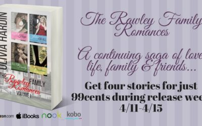 Get Olivia Hardin's Rawley Family Romances on Sale During Release Week