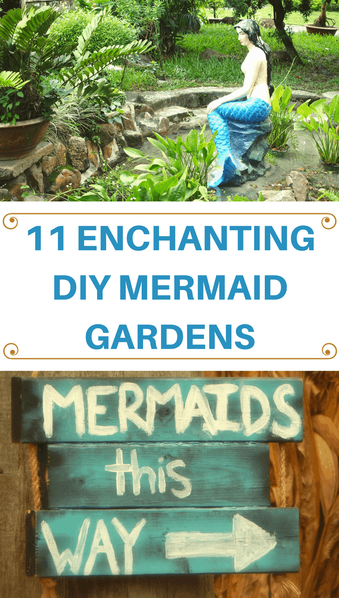Take your fairy garden up a notch with these mystical mermaid garden DIY ideas! You'll love these ideas both outdoors or for home decor!