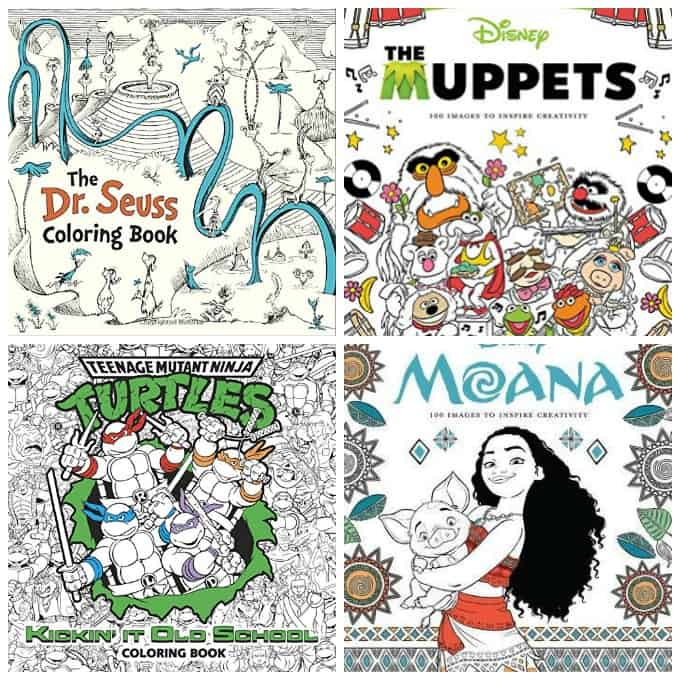 7 Grownup Coloring Books For Kids At Heart