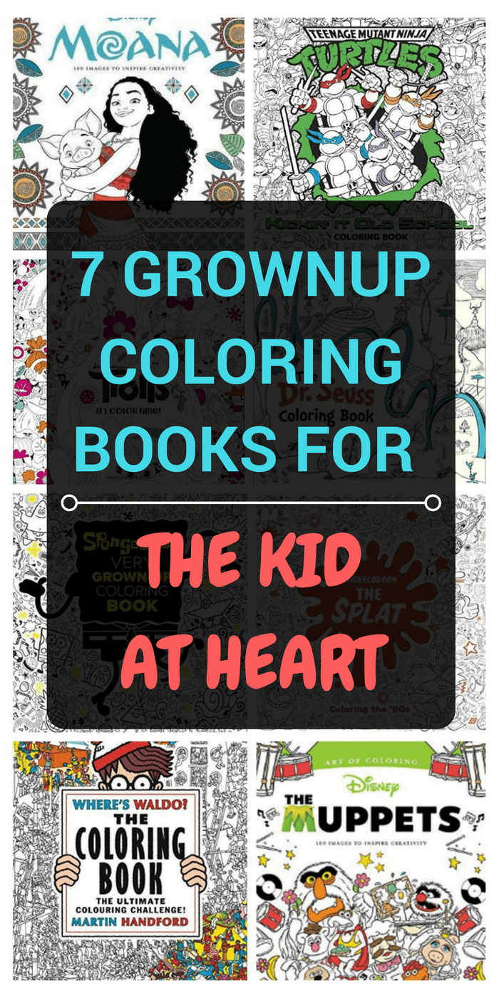 Ready for adult coloring books that challenge you and make you feel like a kid again? Check out these creative ideas including Disney, Seuss and more!