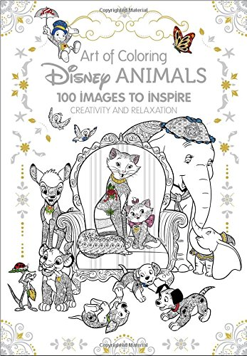 7 Grownup Coloring Books For The Kid At Heart Art Of Coloring Animals Disney