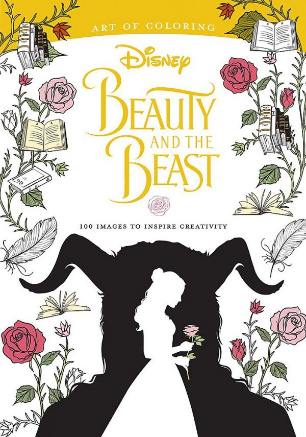 Art of coloring beauty and the beast 10 Fun Adult Coloring Books For The Kid At Heart