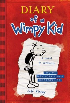 7 Bestselling Books Made Into Movies You Have To Read With Your Kids: Diary of a Wimpy Kid