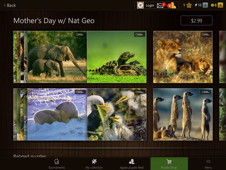 Mothers Day with Nat Geo Puzzle Pack Solve Nat Geo WILD Mother's Day Puzzles & You Could Win Fabulous Prizes!