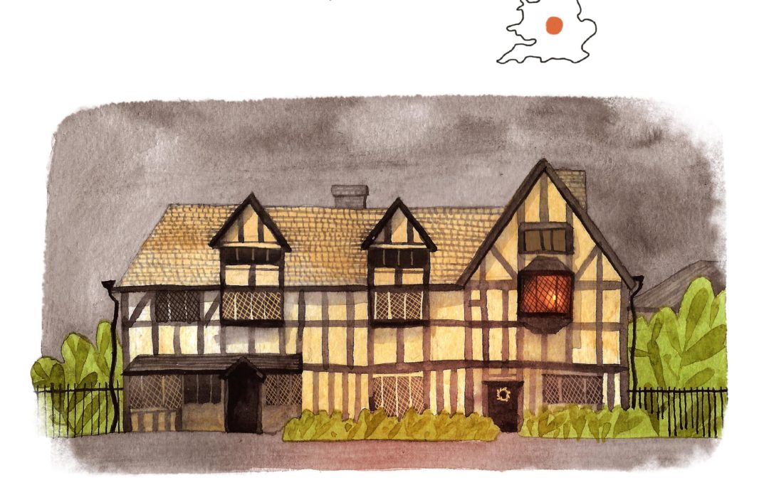 Take a Beautifully Illustrated Literary Tour of the UK!