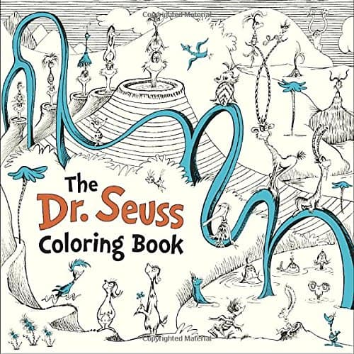 7 Grownup Coloring Books For The Kid At Heart Dr Seuss Coloring Book