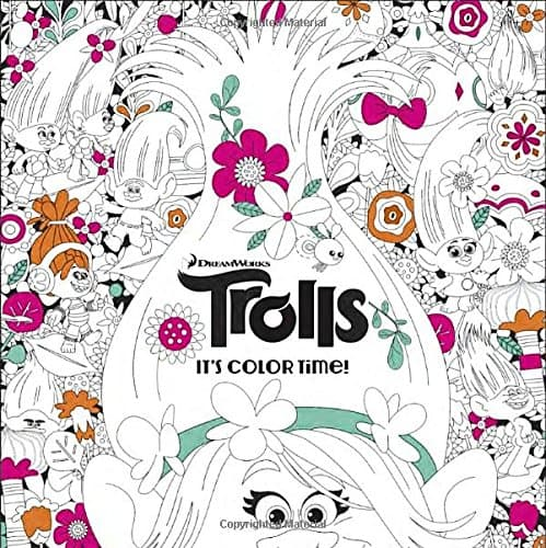7 Grownup Coloring Books For The Kid At Heart Trolls Dreamworks
