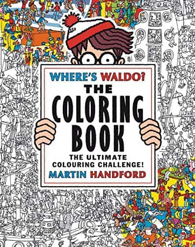 7 Grownup Coloring Books For The Kid At Heart Where's Waldo