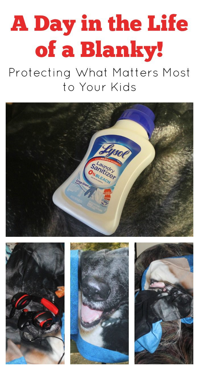 A day in the life of a blanky: how to protect what matters most to your kids!