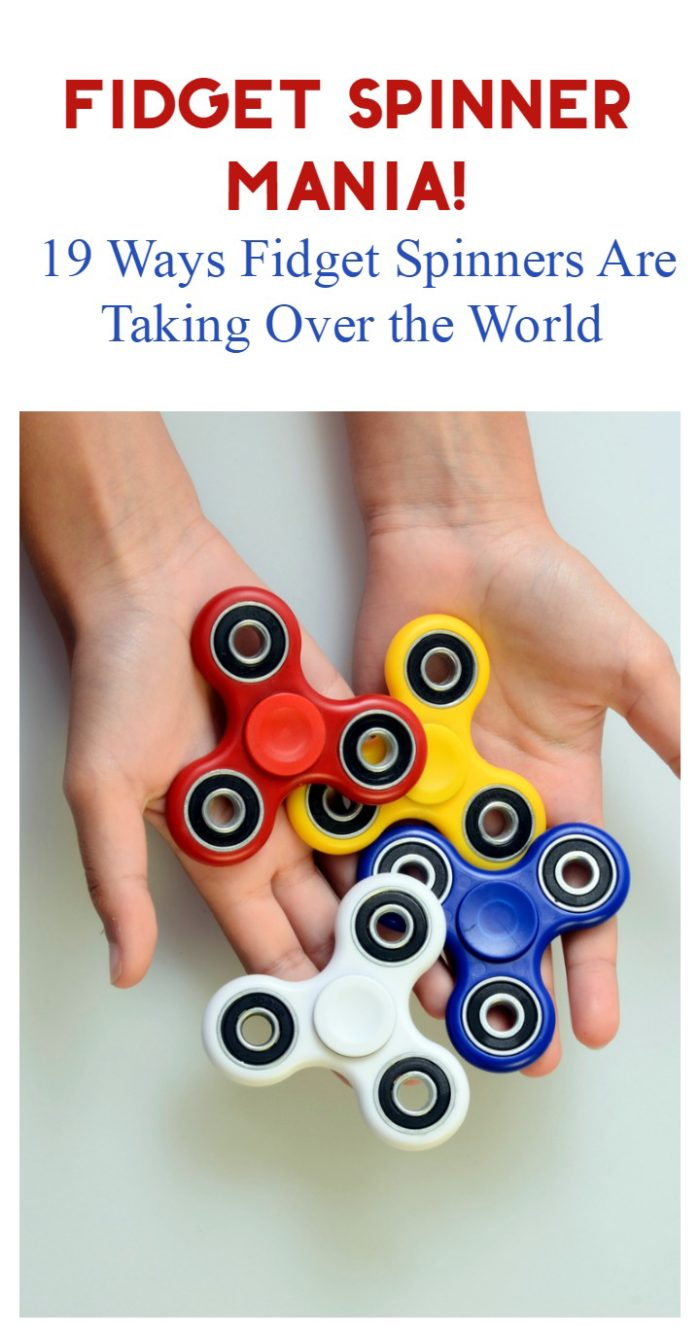 Fidget spinner mania is taking over the world! Check out 19 ways the fad has made its way into our lives and the news.