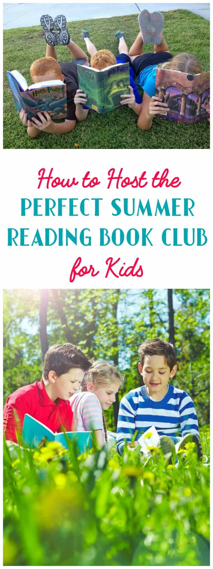 Find out how to host the perfect summer reading book club for kids in 7 easy steps!
