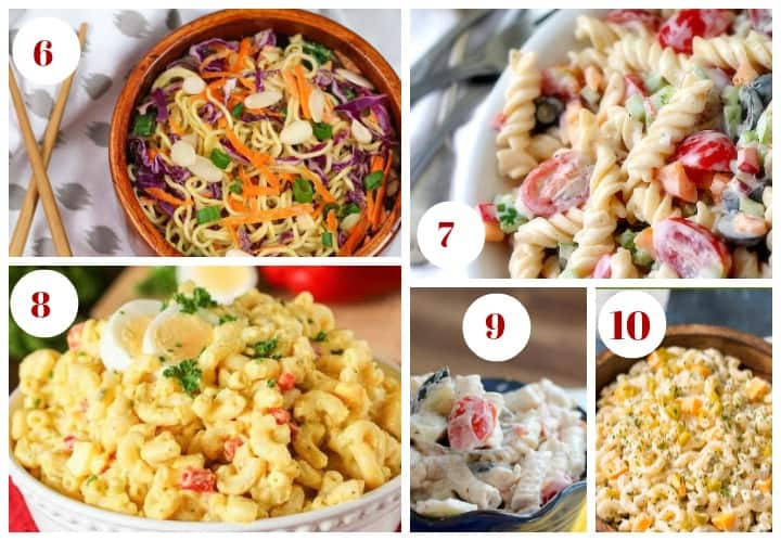 Pasta salad just screams summer party, doesn't it? I'm loving these 25 perfect pasta salad recipes! I can't wait to try them all during my backyard BBQs!