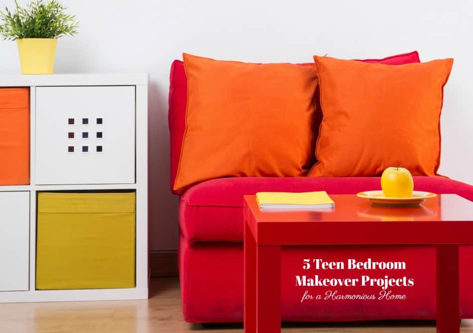 5 Teen Bedroom Makeover Projects for a Harmonious Home