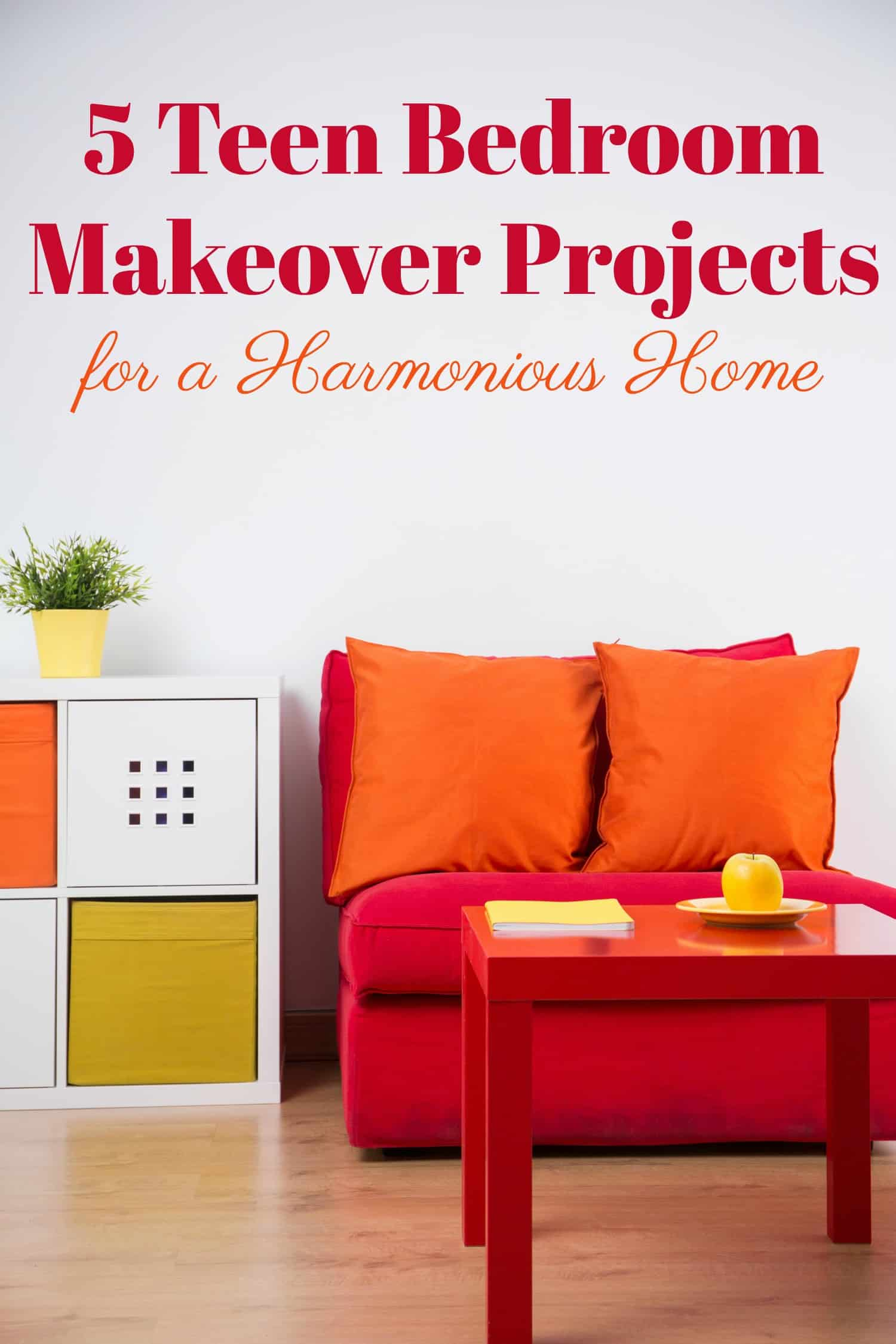 Transform your teens room into a sanctuary with these five teen bedroom makeover projects plus find out how much you can expect to spend on each one!