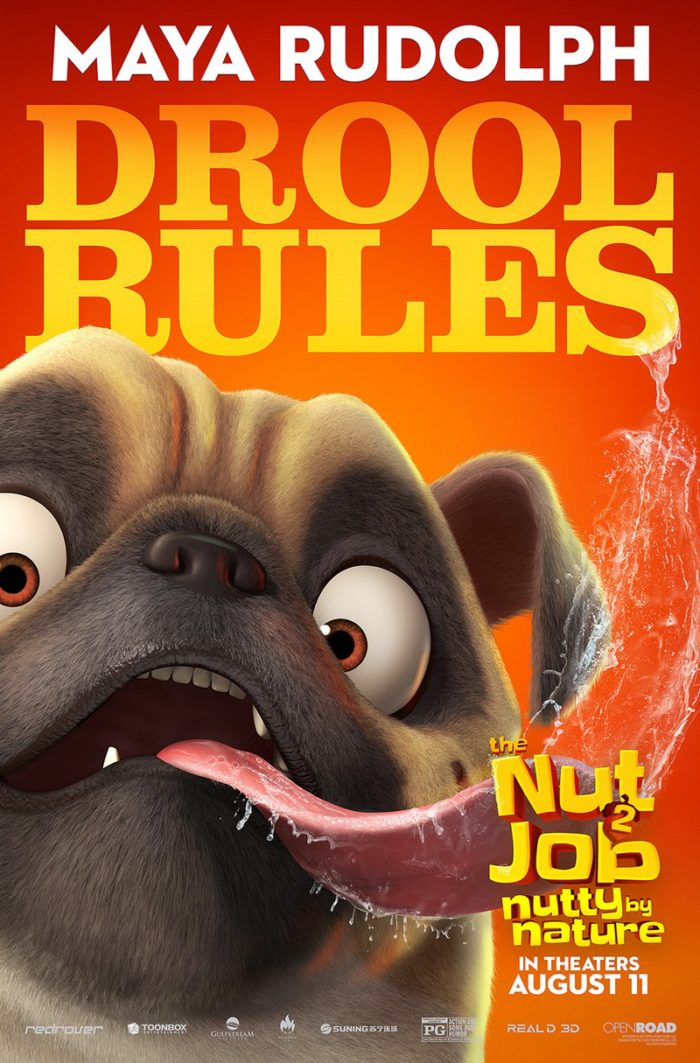 NJ2 DOG WIP 6 8 Awesome New The Nut Job 2: Nutty By Nature Character Posters