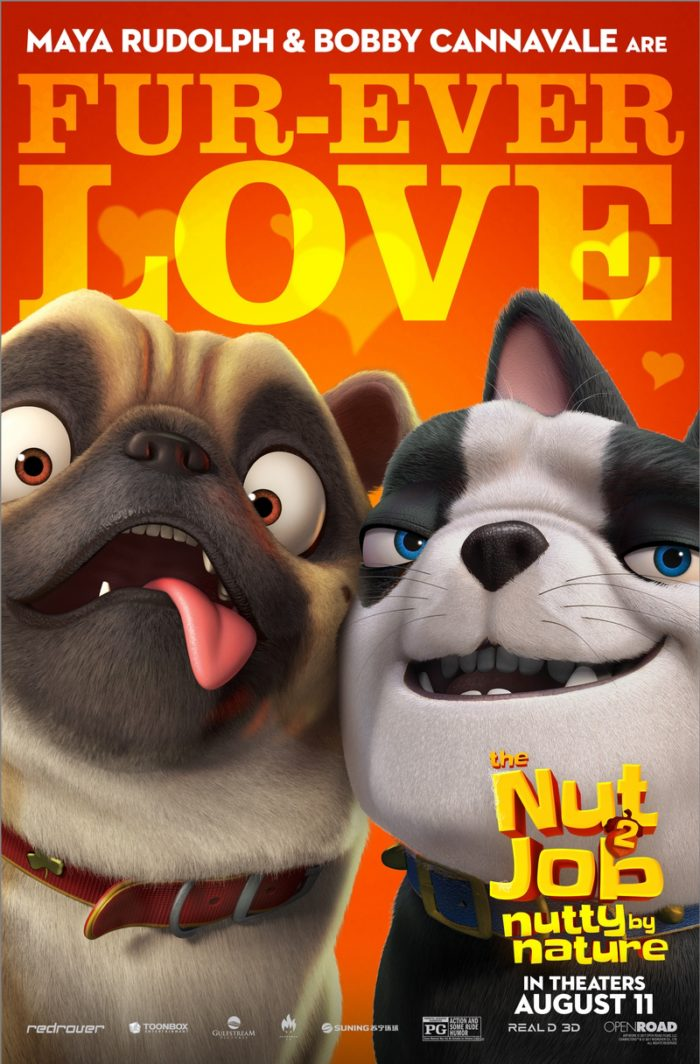 NJ2 DOGs FIN 1 8 Awesome New The Nut Job 2: Nutty By Nature Character Posters