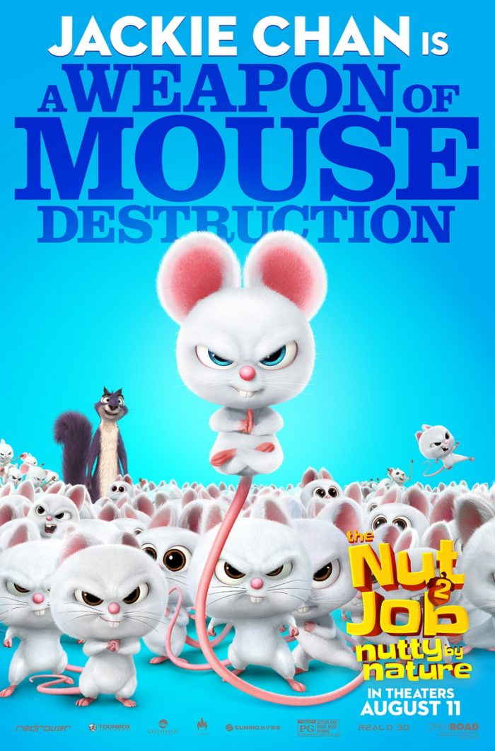 NJ2 MOUSE WIP 8 8 Awesome New The Nut Job 2: Nutty By Nature Character Posters