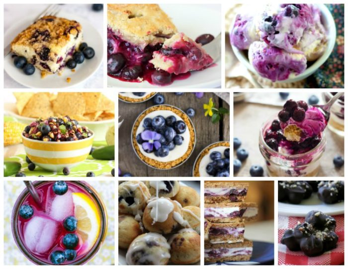 Celebrate summer's berry harvest with 31 delicious must-try blueberry recipes, plus check out a few amazing health benefits of this yummy little fruit!