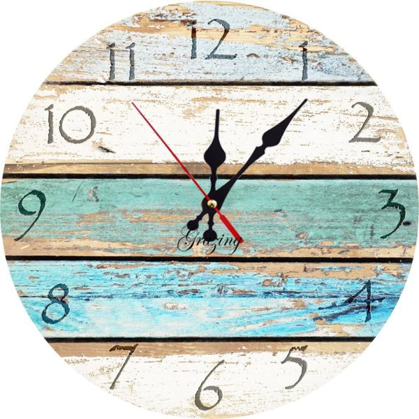 11 Beautiful Mermaid Home Decor Ideas - Clock