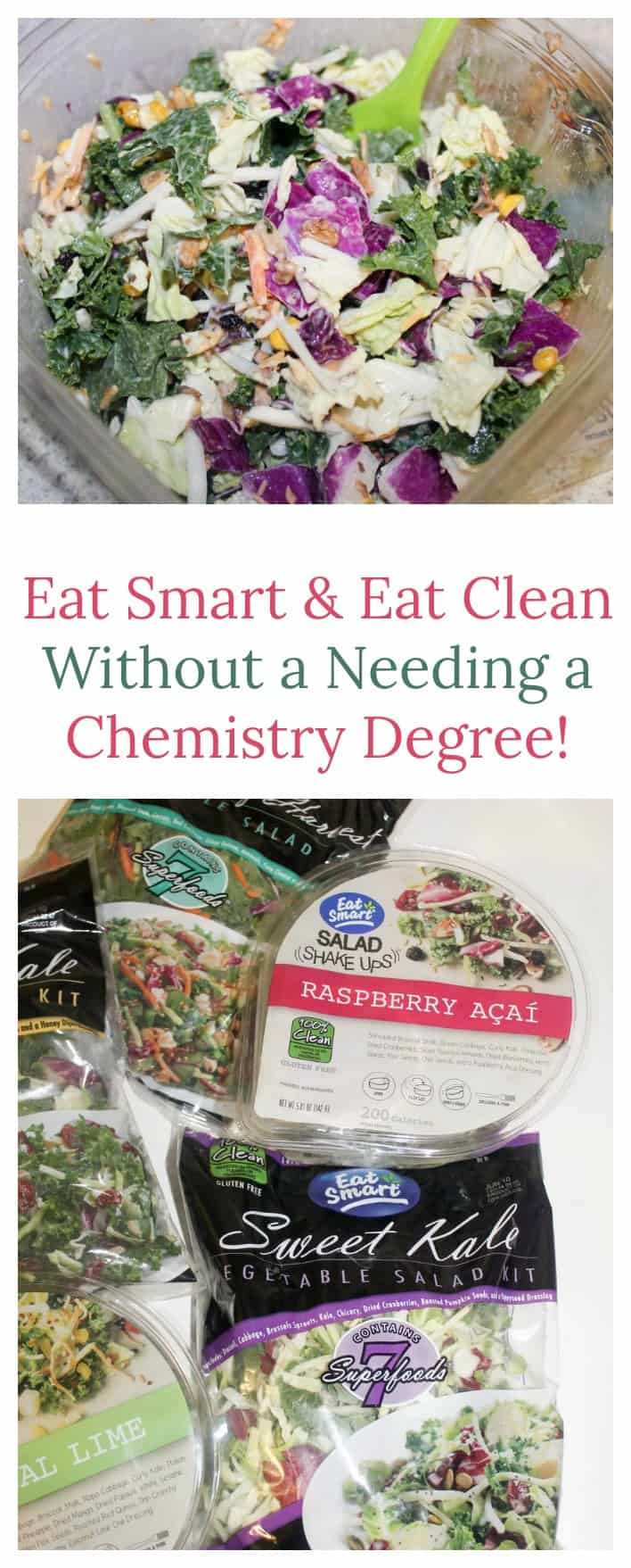 Eating healthy shouldn't be hard! With Eat Smart Salad Kits & their Eat Clean labels, it just got a ton easier! Check out our favorite flavors!