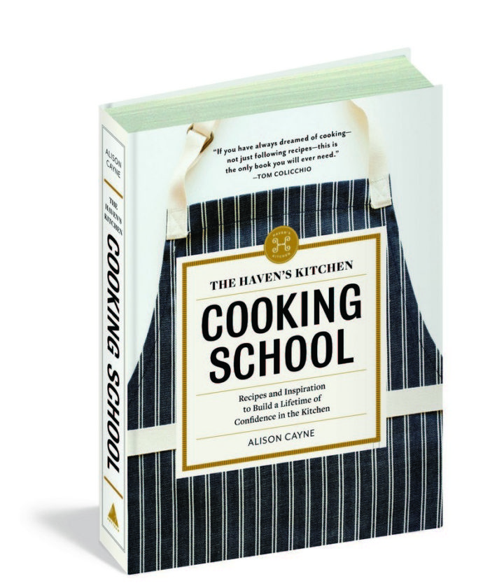Think you can't cook? You haven't read the Haven's Kitchen Cooking School cookbook yet! Build confidence in the kitchen and learn to make meals your family loves. Check it out!