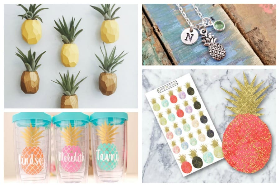 11 of the Absolute Cutest Pineapple Gifts on Etsy