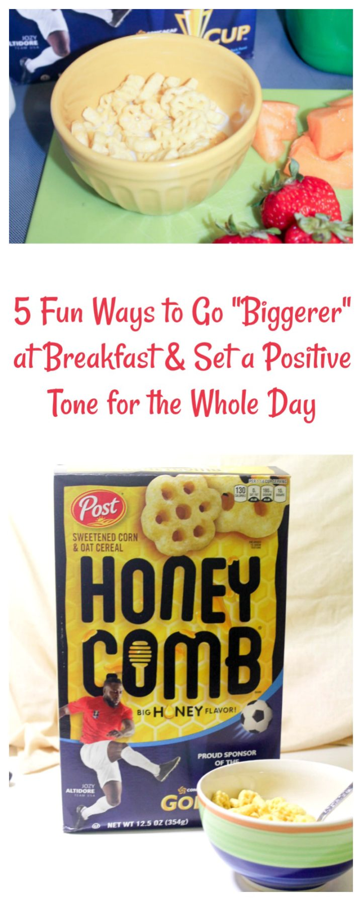 5 Fun Ways to Go Biggerer at Breakfast & Set a Positive Tone for the Whole Day
