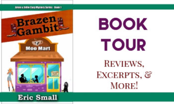 Brazen Gambit Book Tour & Excerpt from the Fun New Cozy Mystery Series!