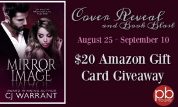 Mirror Image by CJ Warrant Cover Reveal and Book Blast + $20 Amazon Gift Card Giveaway