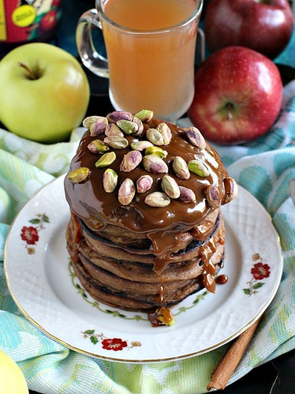 "Apple Butter Pancakes 8005 35 Outstanding Apple Recipes That Scream ""Fall is Here!"""