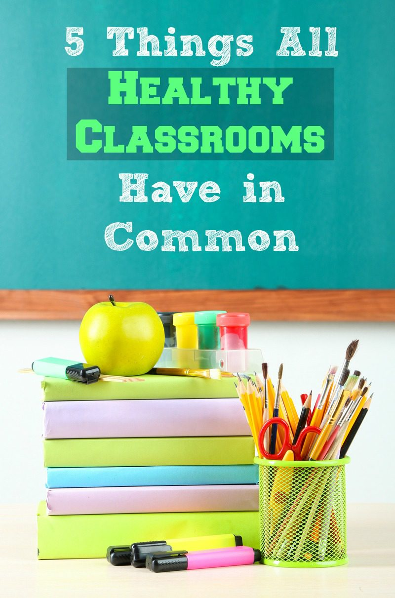 Healthy classrooms have these 5 things in common! Find out what they are and how you can help your child's teacher combat colds and the flu!