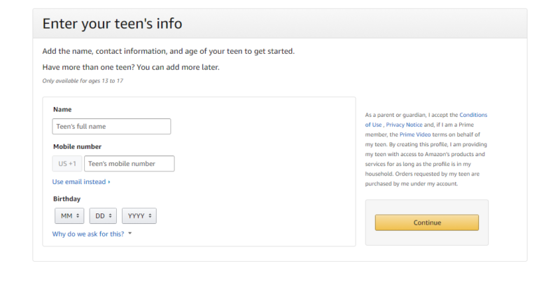 Amazon Teen Setup Amazon Found a Way to Give Teens Independence While Letting Parents Stay in the Know!