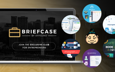 10 Crazy Useful Products for Bloggers Included in AppSumo's Briefcase