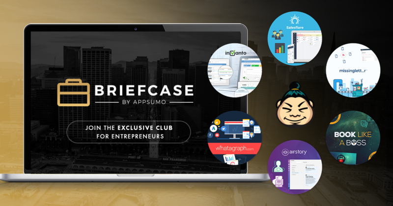 FB Briefcase 1200x628 3 10 Crazy Useful Products for Bloggers Included in AppSumo's Briefcase