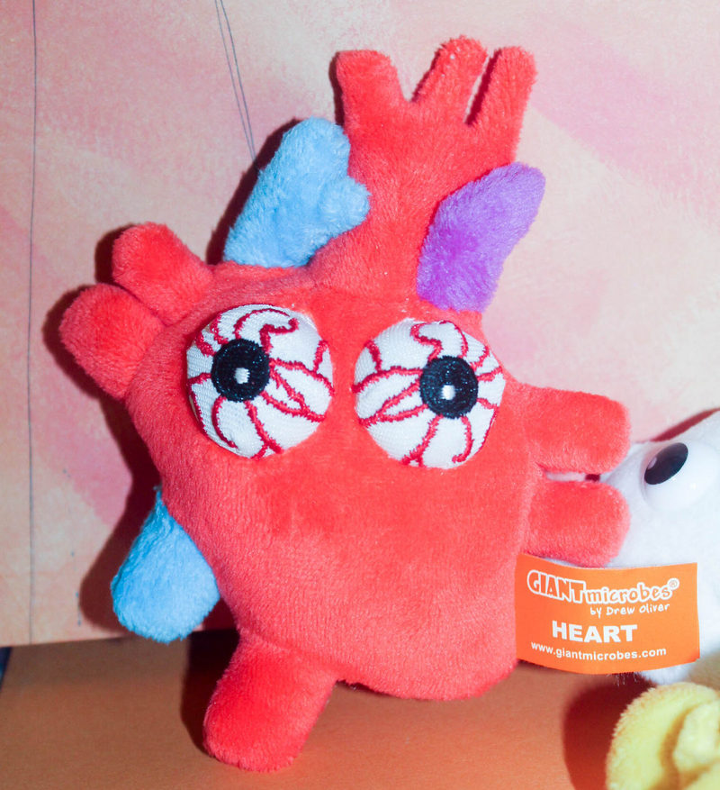 "Giant Microbes Halloween Heart Here's Why GIANTMicrobes Make the Perfect ""Anytime"" Gift!"