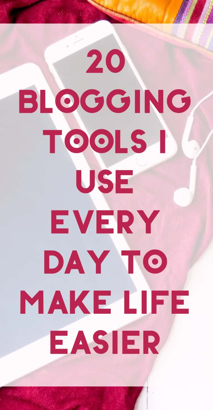 Want a behind the scenes look at how I work? I'm sharing ALL of the blogging tools that I use every day to make my life easier (and maybe yours, too!). Seriously, this is everything I use on a daily basis from start to finish as I edit and schedule not just for Pretty Opinionated, but for four other sites as well!