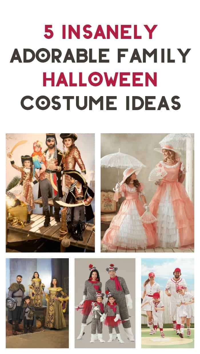 How cute are these Halloween costume ideas for families? Check them out and find out where to get them!