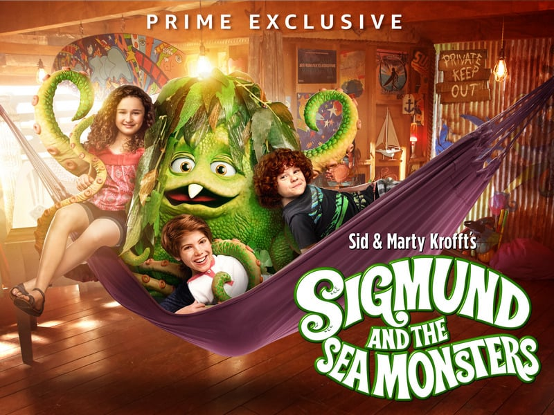 Grab these Free Sigmund and the Sea Monsters Activity Sheets & Watch it On Amazon Prime!