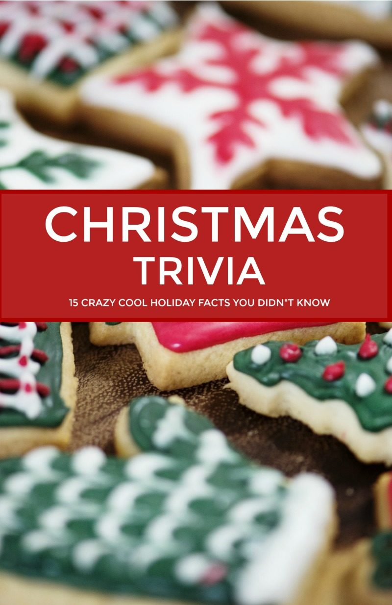 Bet you didn't know these 25 crazy cool Christmas facts! Check them out and wow your friends with your deep knowledge of Christmas trivia!