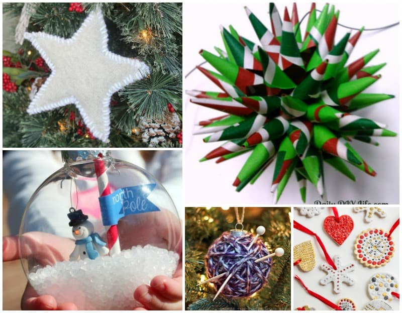 25 adorable homemade christmas ornaments to make pretty opinionated looking for an inexpensive way to decorate your tree and keep the kids or yourself solutioingenieria Gallery