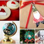 25 Adorable Homemade Christmas Ornaments to Make