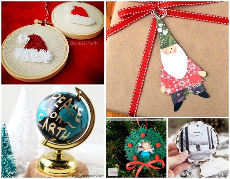 25 Adorable Homemade Christmas Ornaments to Make